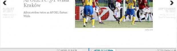 Timeline jquery - APOEL Champions League 2011 - 2012