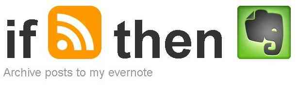 Backup posts with IFTTT and Evernote