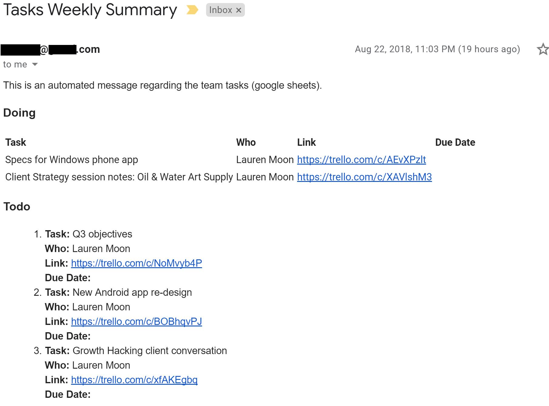 Google Sheets Script for email report ← gieglas com